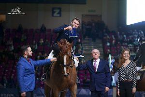 Andrzej Opłatek zwyciężył w Cavaliada Tour U21
